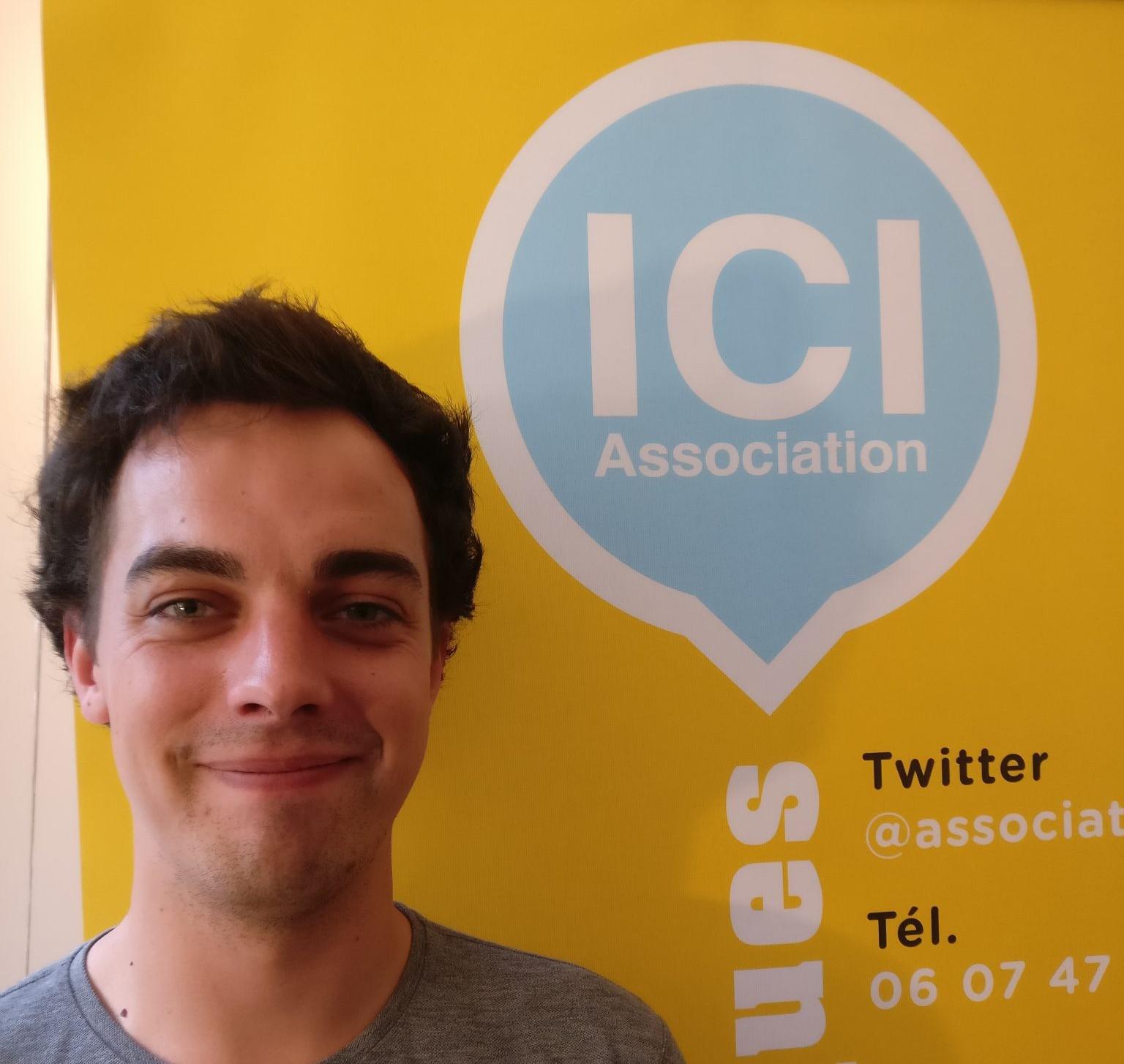 Pierre Luc Fayolle - Président Association ICI 2018