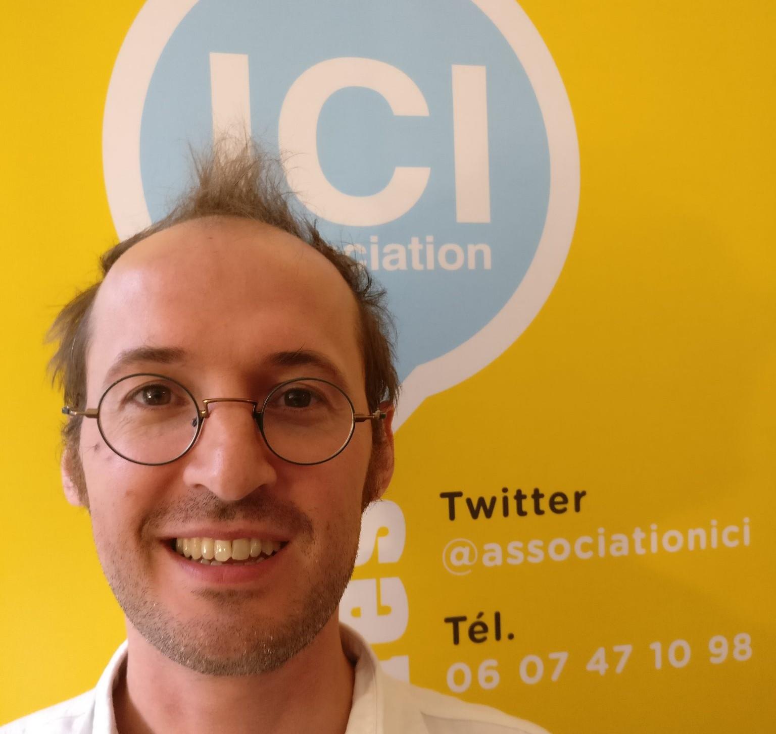 Joachim Pasquet - Secrétaire Association ICI 2017